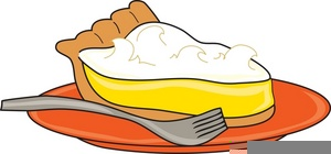 Lemon Meringue Pie Clipart.