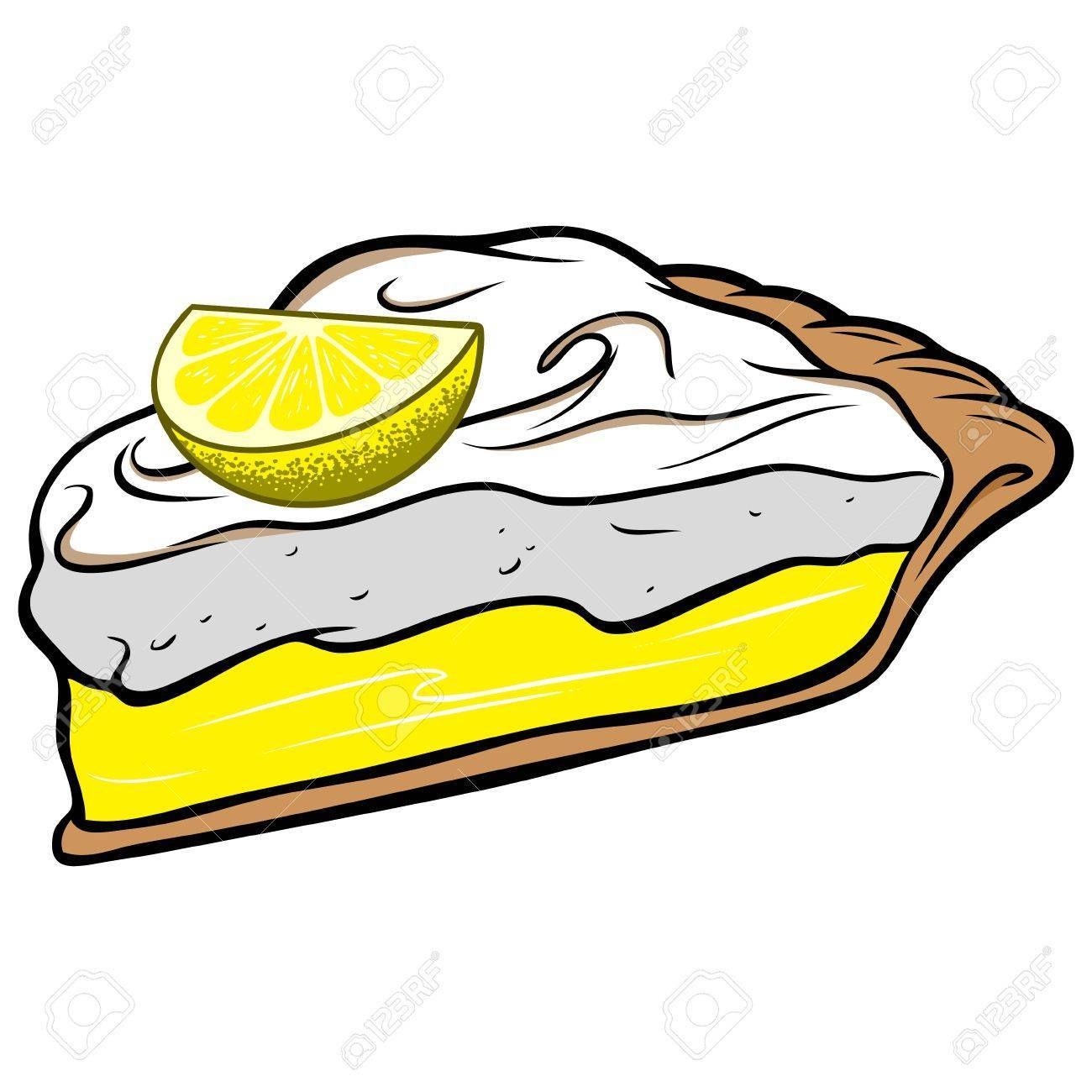 Lemon meringue pie clipart 3 » Clipart Portal.