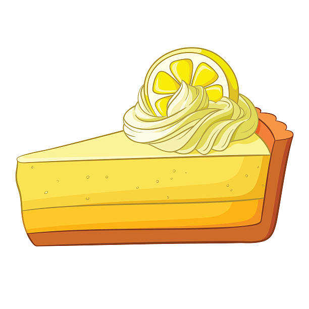 Best Lemon Pie Illustrations, Royalty.