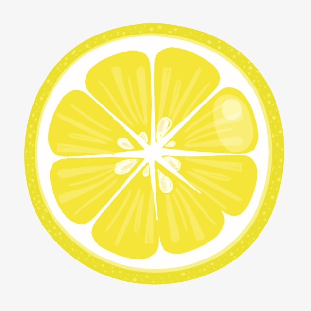 Lemon slices clipart 6 » Clipart Station.