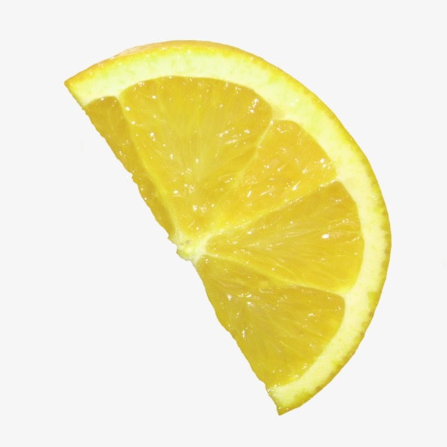 Half A Slice Of Lemon, Lemon Clipart, Lemon, Fruit PNG.