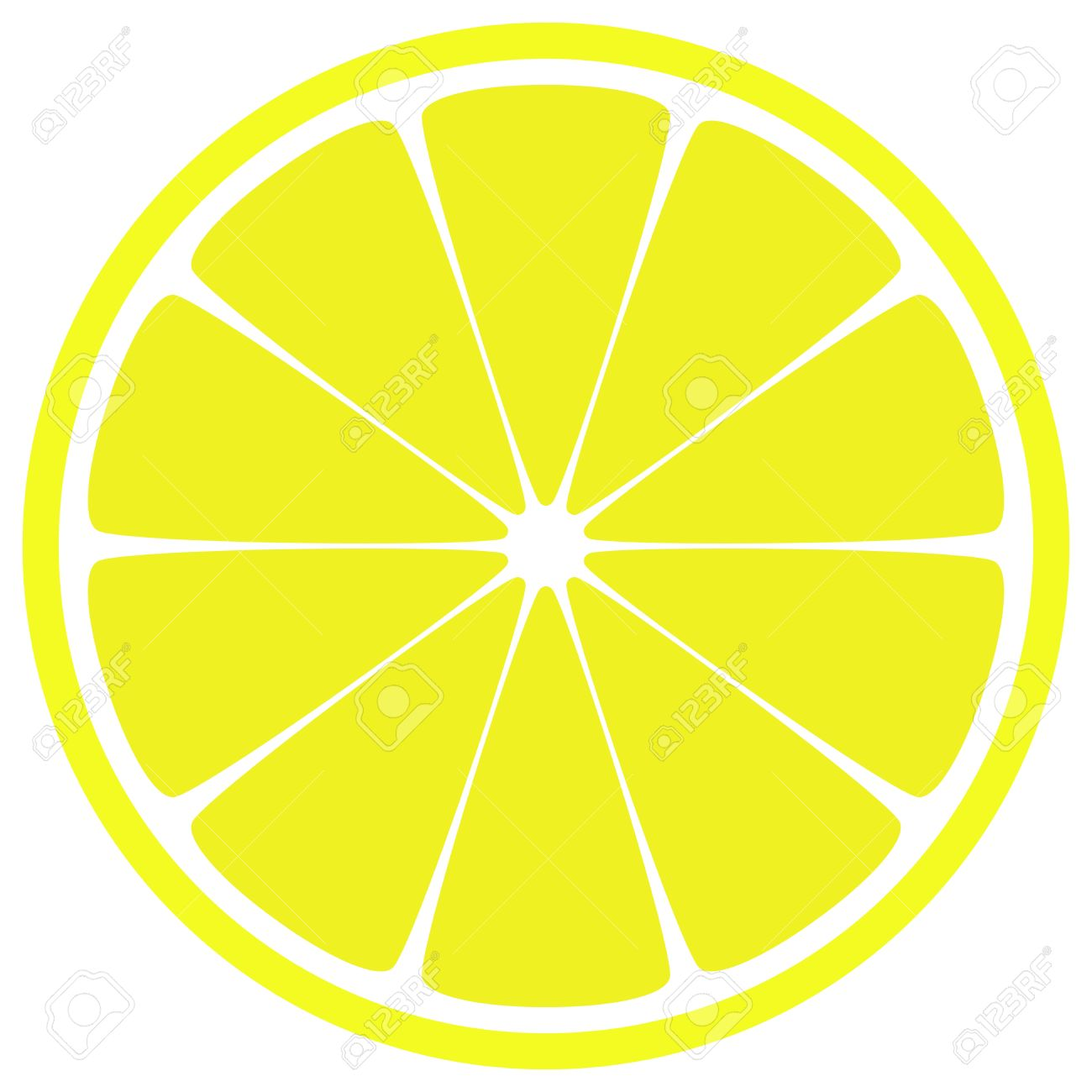 Lemon Slice Royalty Free Cliparts, Vectors, And Stock Illustration.