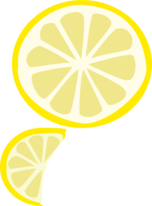 Lemon Slices Clip Art at Clker.com.