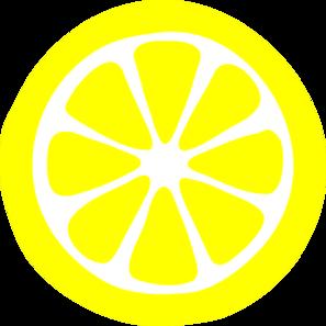 Lemon slices clipart free.