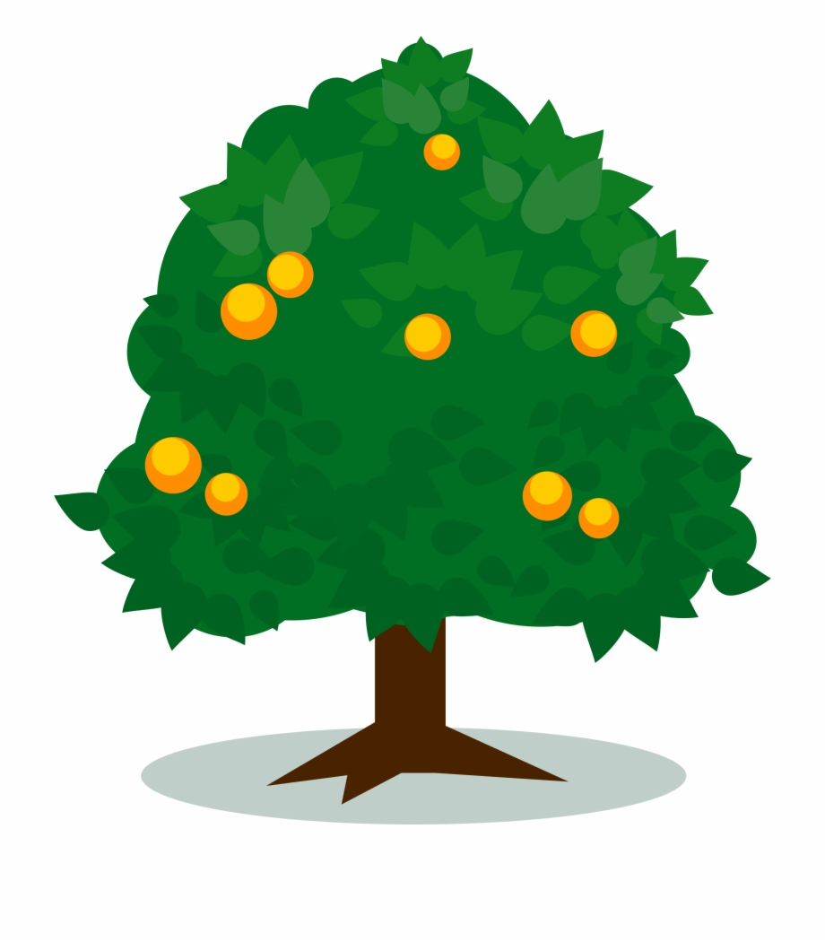 Cartoon Christmas Tree Clipart.