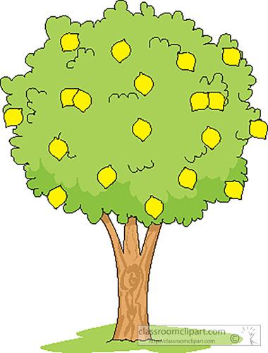 Lemon Tree Clipart.