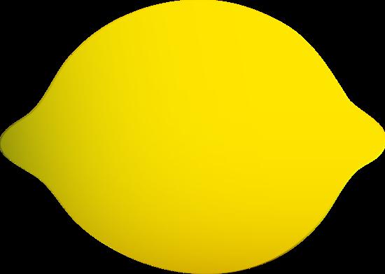 Whole Yellow Lemon.
