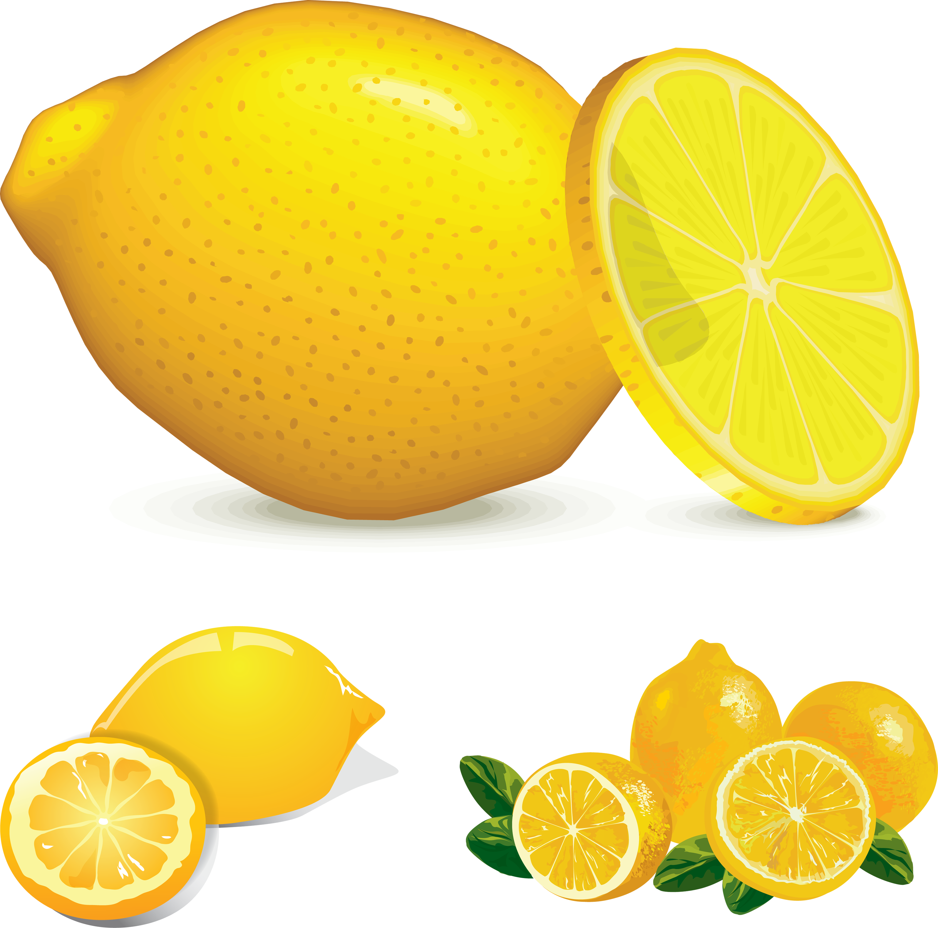 Yellow Lemon Clipart.