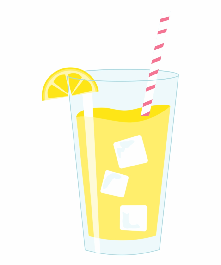 Glass Of Lemonade Clipart, Transparent Png Download For Free.