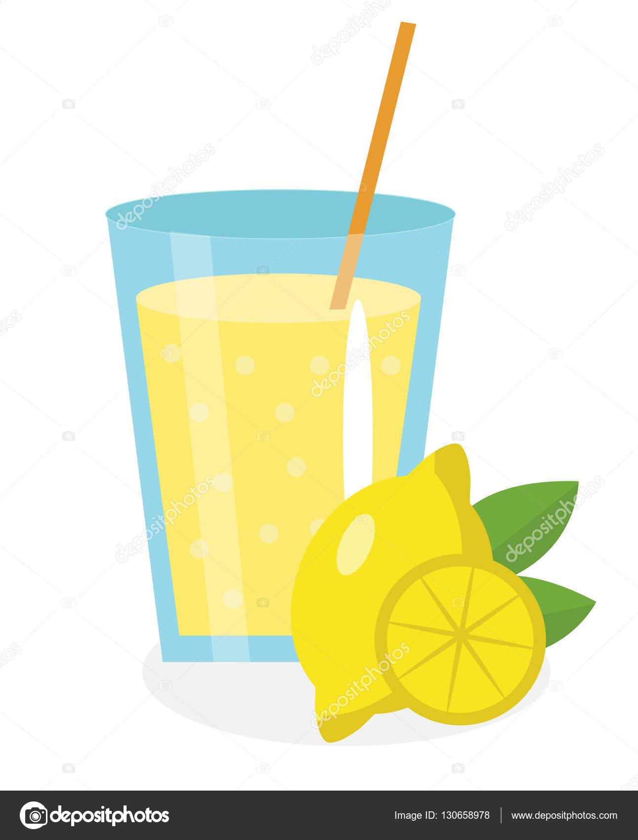 Clipart Glass Of Lemonade.