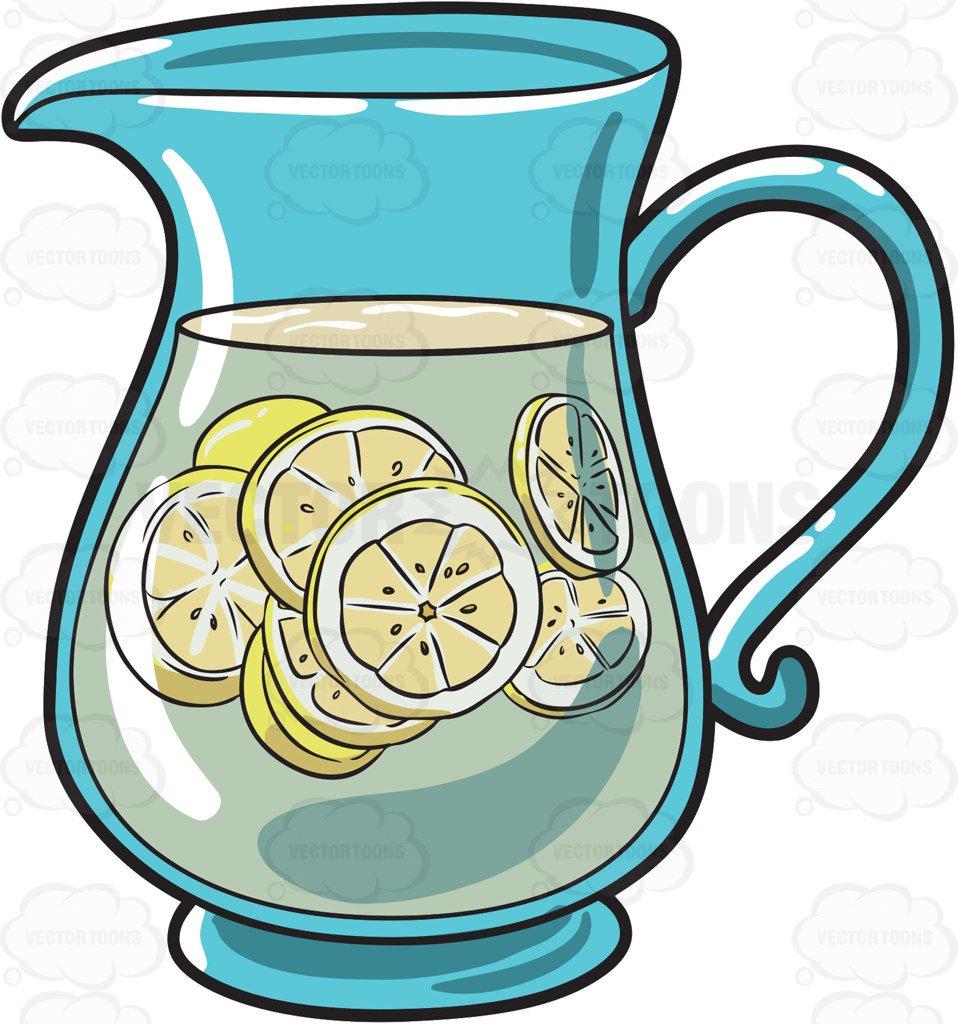 Lemonade pitcher clipart » Clipart Station.