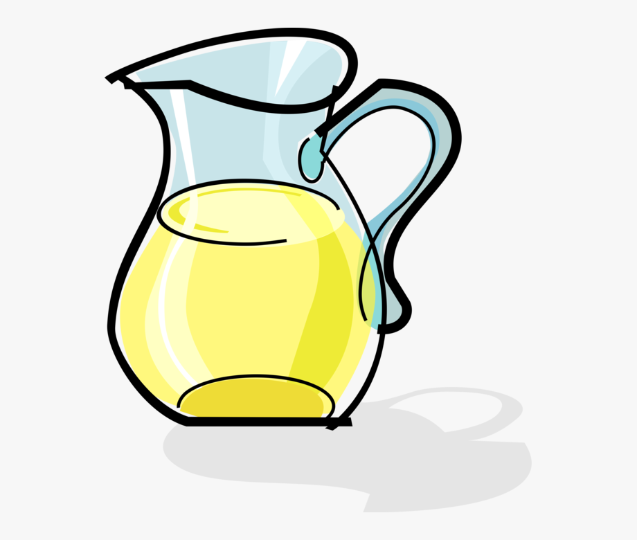 Lemonade Pitcher Clipart.