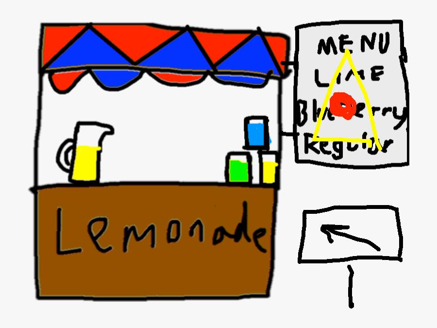 Transparent Lemonade Stand Png.