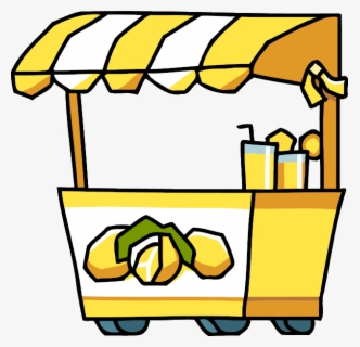 Free Lemonade Stand Clip Art with No Background.