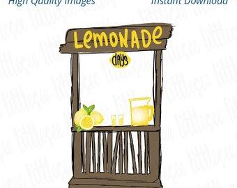 Lemonade stand png.