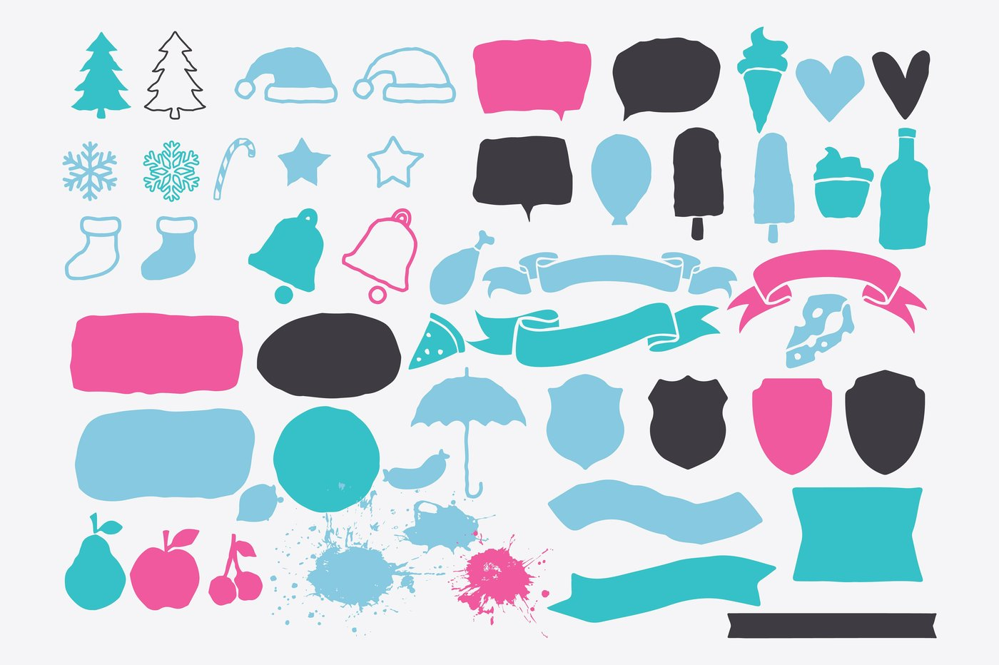 The December Design Bundle by TheHungryJPEG.