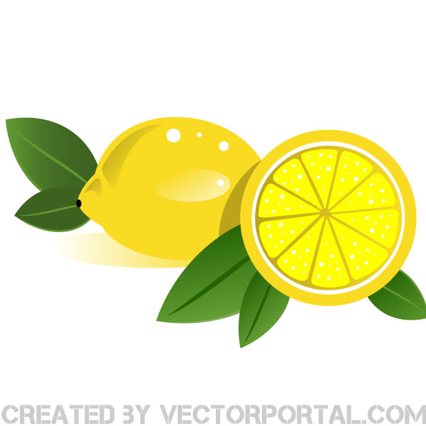 Lemons vector clip art by vectorportal on deviantart.