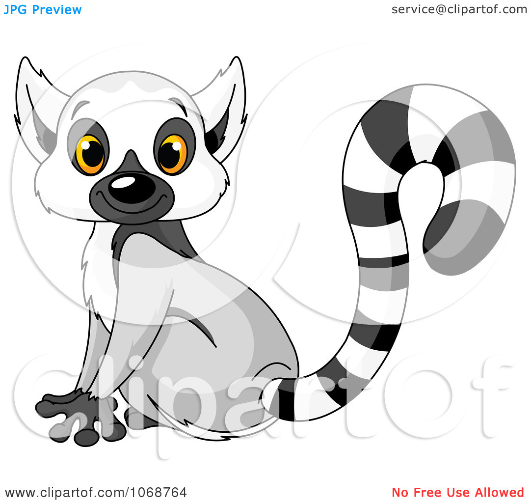Free lemur clipart.