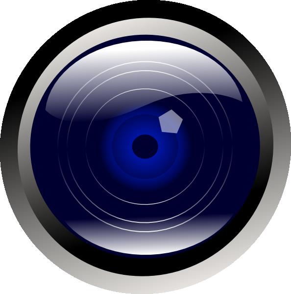 Blue Camera Lens Clip Art at Clker.com.