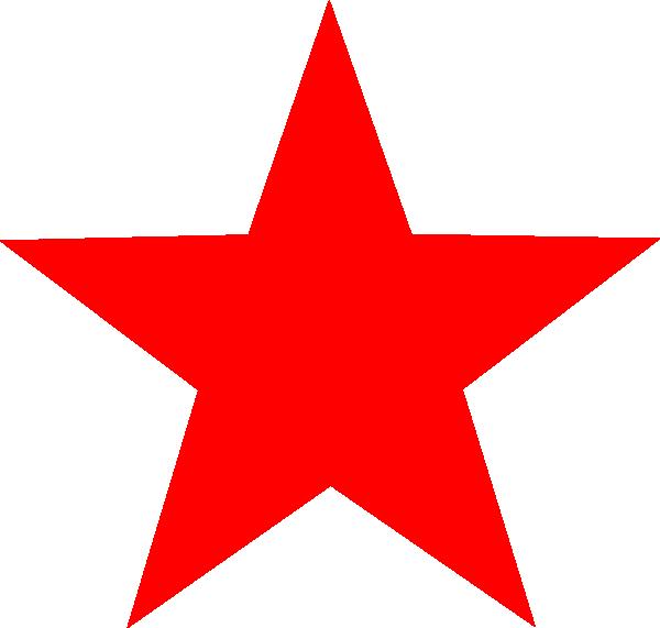 Small Red Clip Art Stars.