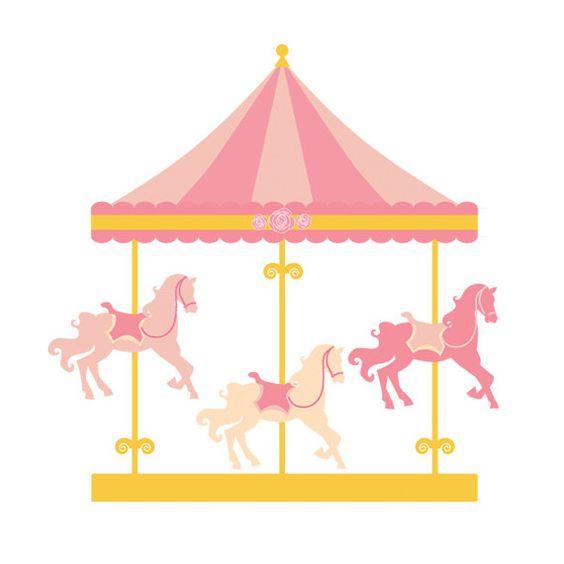 Carrousel clipart.
