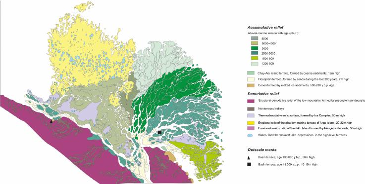 Lena River Delta formation during the Holocene (PDF Download.