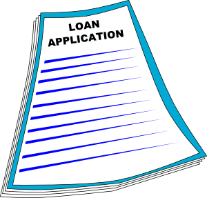 Mortgage Loan Clipart.