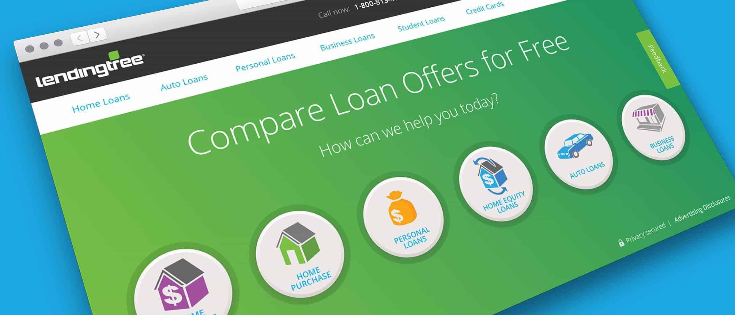 LendingTree.com leads US Personal Loan market in Digital CX.