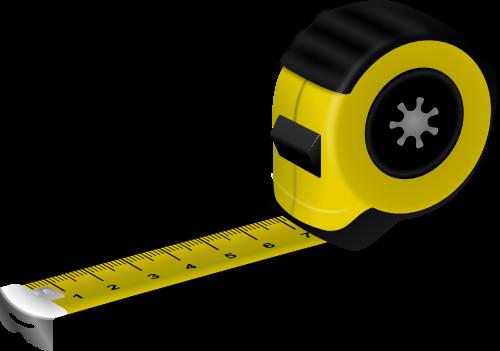 Measuring length clipart.