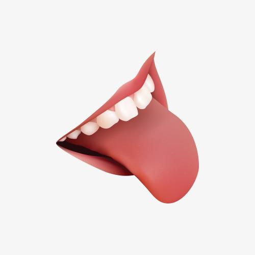 2355 Tongue free clipart.