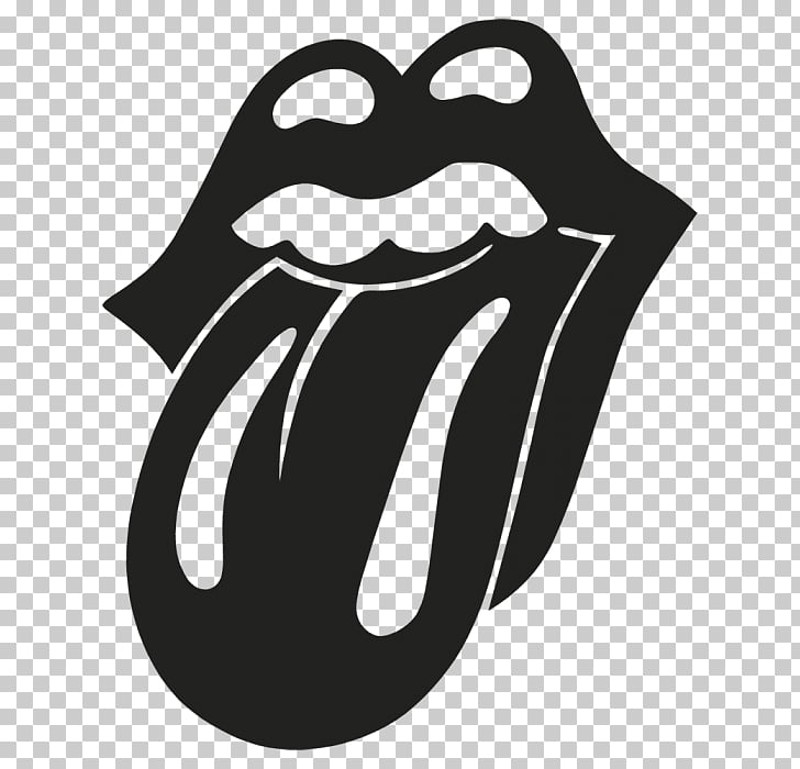 The Rolling Stones Logo Sticker Music, Rolling stone PNG.