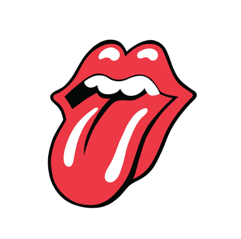 Tongue Clipart Rolling Stone.