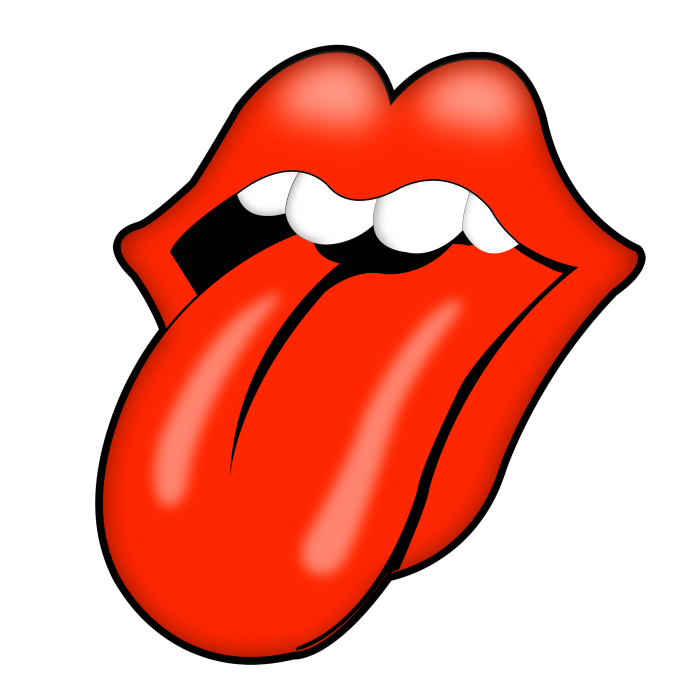 Lengua Rolling Stones Png Vector, Clipart, PSD.