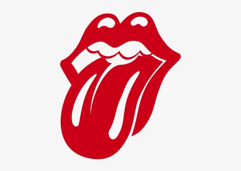 Pegatina Lengua Rolling Stones 1 Color.