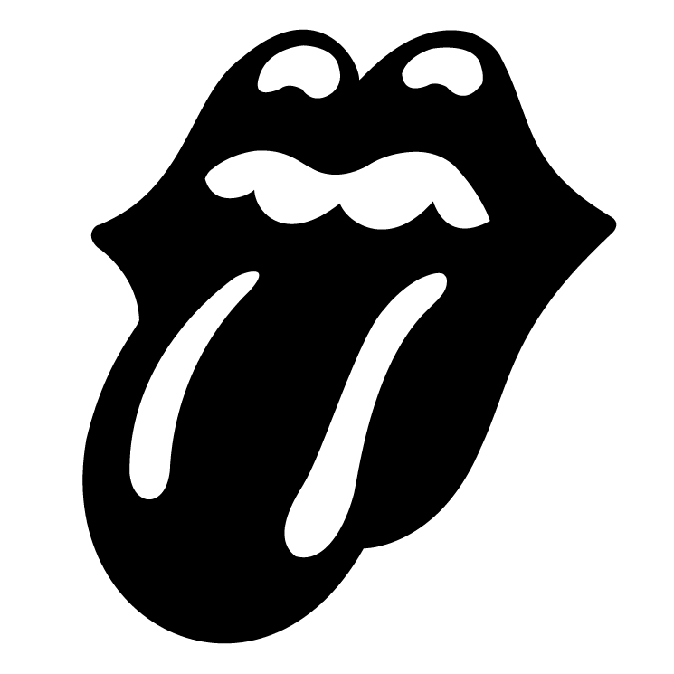 free vector The rolling stones.
