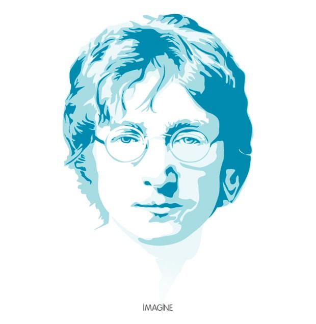 John Lennon Vector Art Tribute.