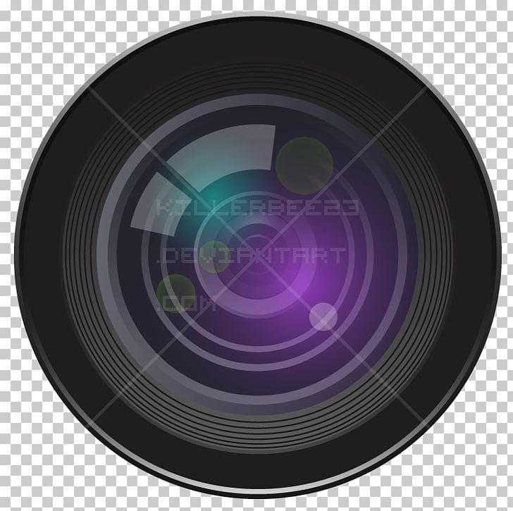 Camera lens Lens flare, lens blur PNG clipart.