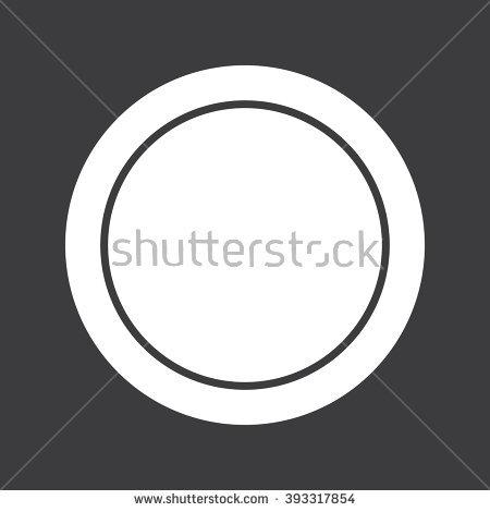 Lens Cap Icon Stock Vector 396622528.