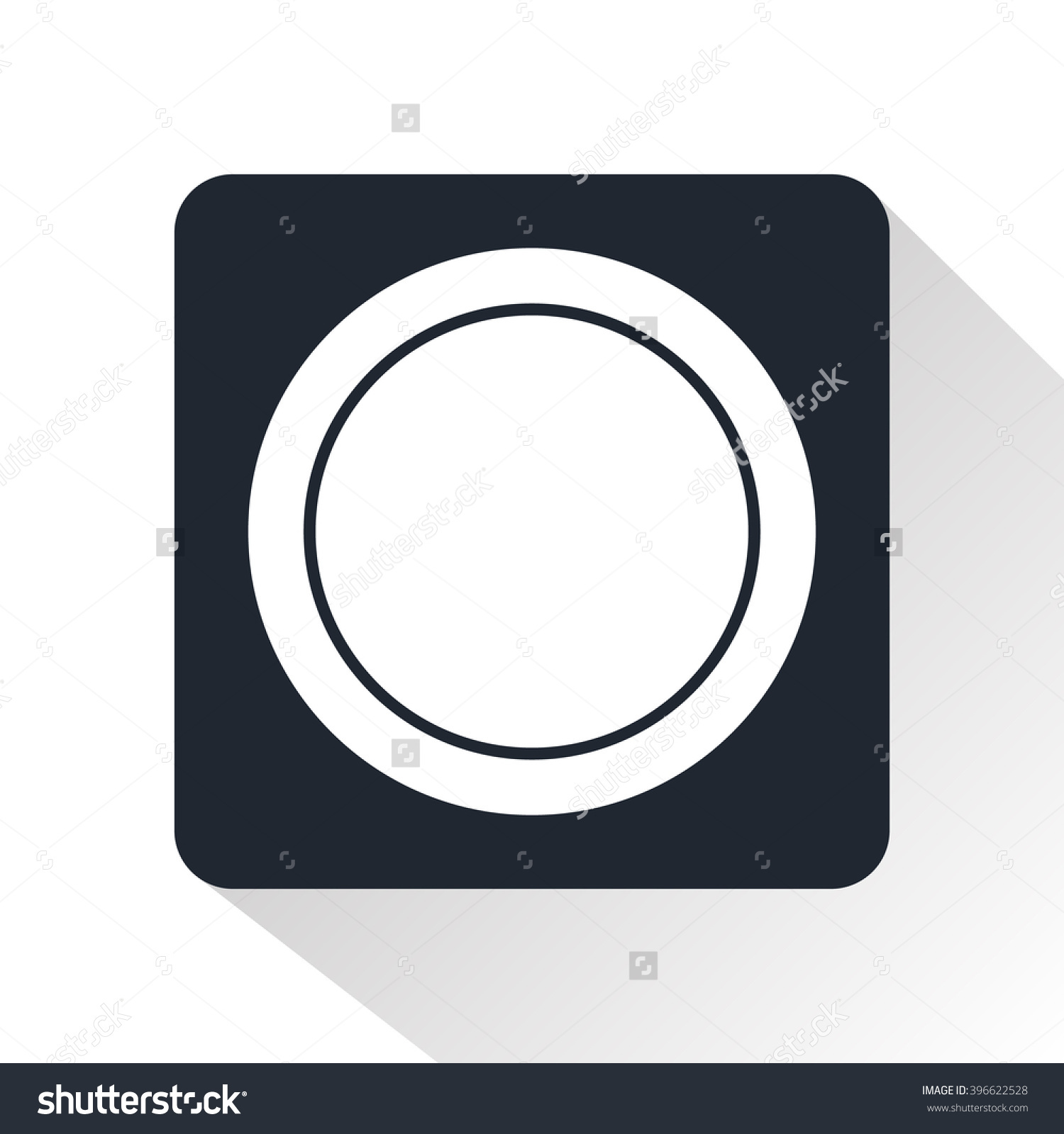 Lens Cap Icon Stock Vector 396622528.