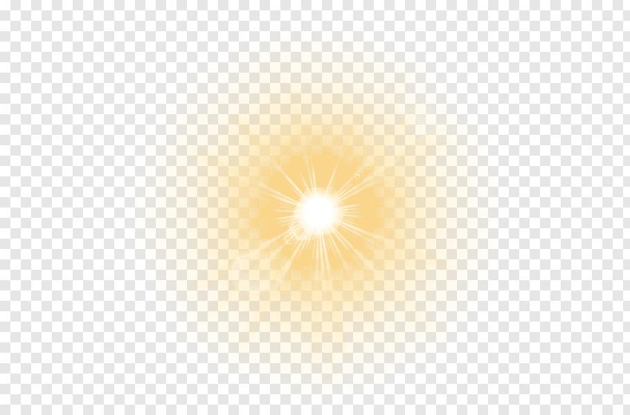 Sun rays, Light Lens flare, light free png.