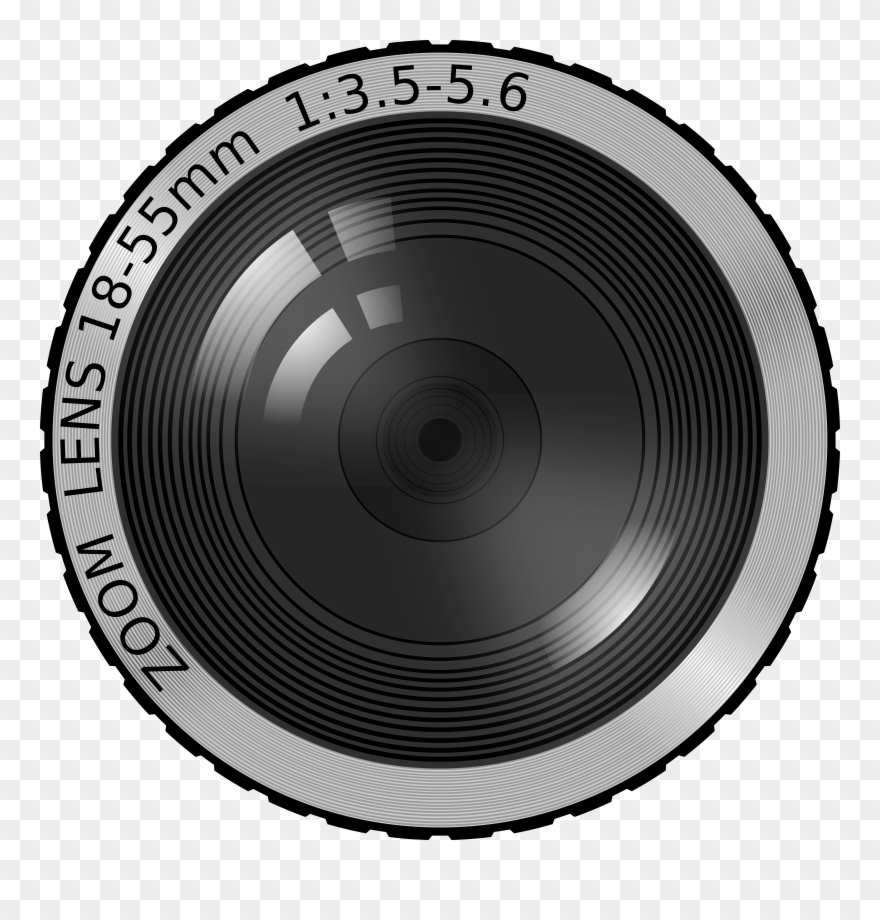 Clip Art Of Camera Lens Png.