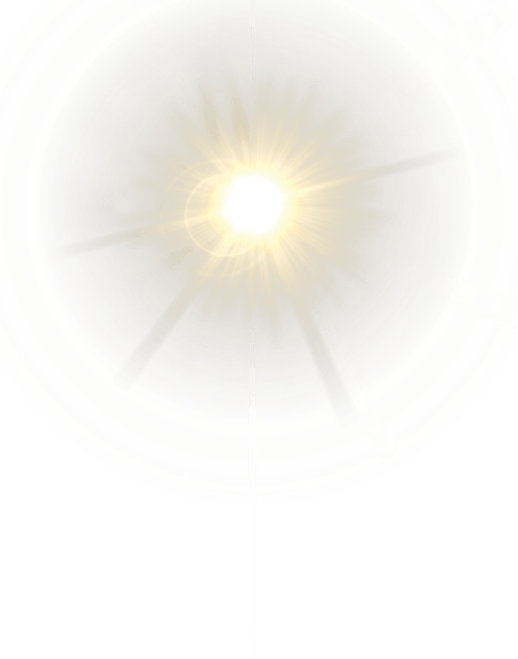 Lens Flare Yellow transparent PNG.