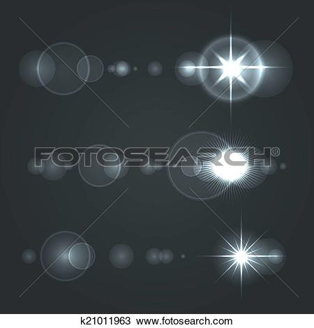 Lens flare Clip Art Vector Graphics. 8,854 lens flare EPS clipart.