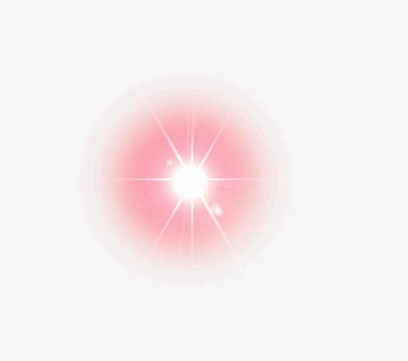 Transparent Eye Lens Flare.