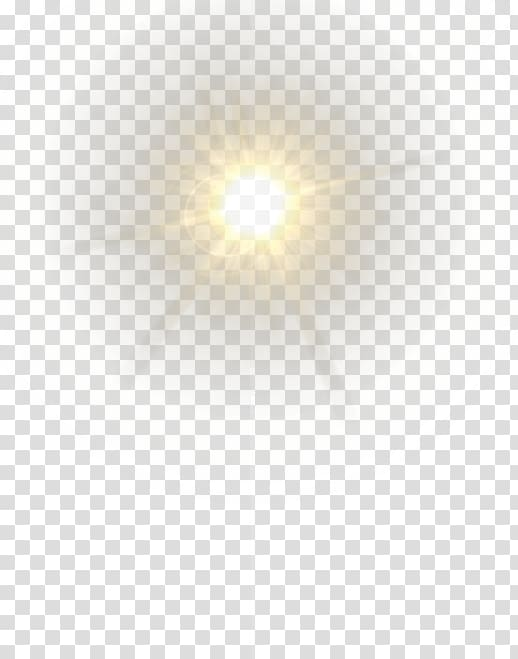Sun , Lens Flare Yellow transparent background PNG clipart.