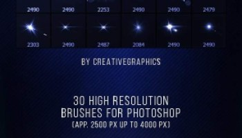 30 Lens Flare Overlays JPEG and PNG Free Download.