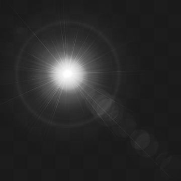 2019 的 Sunlight Lens Flare Vector Effect, Abstract, Light.