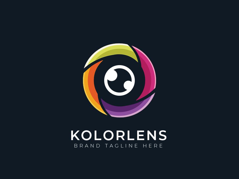 Eye Lens Logo by Raj Kumar on Dribbble.