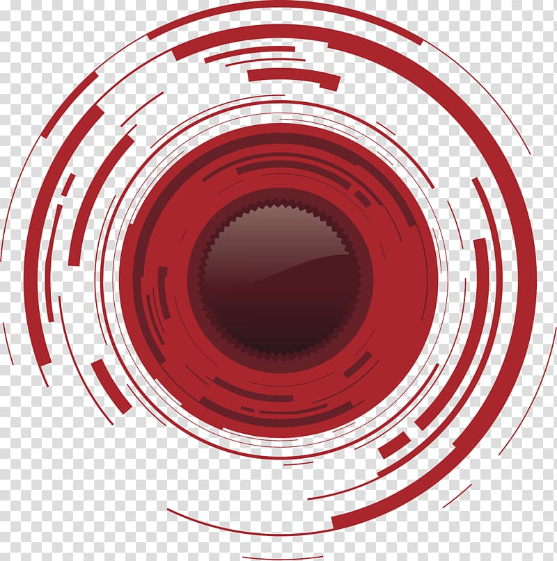 Red logo illustration, Camera lens , graphic lens.