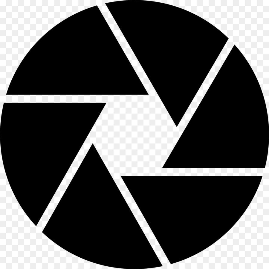 Camera Lens Logo.